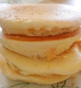 米粉でフワッフワッパンケーキ☆アレルギー