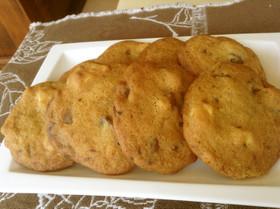 とまらない Wチョコナッツクッキー♪