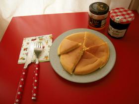 軽ふわメレンゲホットケーキ