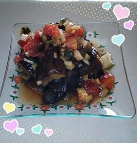 美味しい☆なすの中華風酢の物