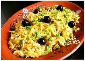 ポルトガルの「たらとポテトの卵とじ」