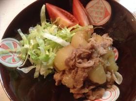 かさ増し☆冬瓜と豚の生姜焼き