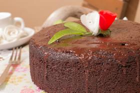♡エスプレッソオートミールチョコケーキ♡