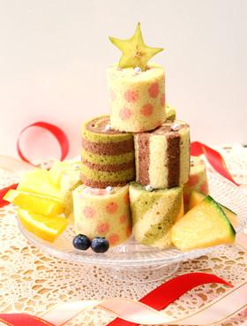 可愛い♡ミニロールケーキ