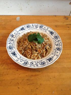 桜海老の炒り豆腐