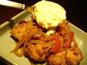 オイスターソースを活用した鶏の南蛮漬け