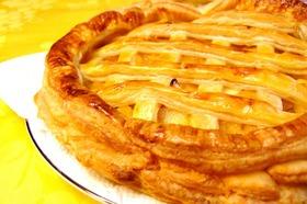 カラメルリンゴのアップルパイ