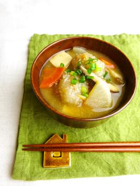 桜えびだんごのダイエット味噌スープ
