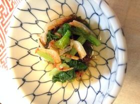 ◎ もずく・小松菜・桜えびの酢の物
