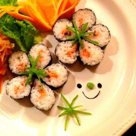 簡単!お花のお寿司✽キャラ弁やひな祭りに