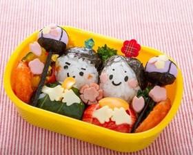 ひな祭りキャラ弁当♪雛人形女の子春レシピ