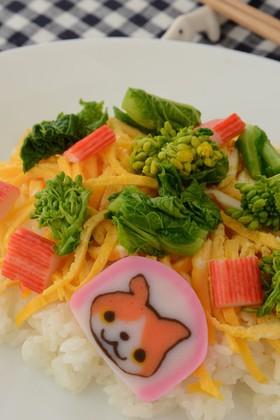 ひなまつりの菜の花ちらし寿司