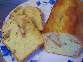 くりくりパウンドケーキ