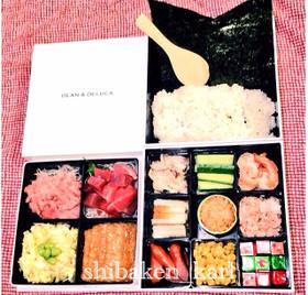 手巻き寿司いなり寿司お花見弁当春の行楽