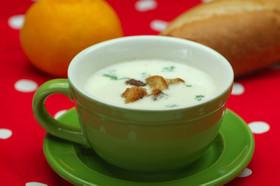 春野菜のクリームスープ