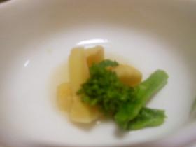 春野菜 新タケノコと菜の花煮