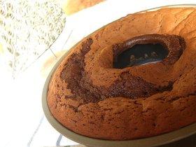 簡単♪カントリーマアム風味のチョコケーキ