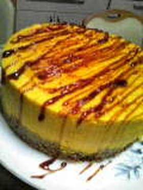 ほろにが★パンプキンプリンケーキ