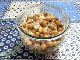 ひよこ豆のハニー粒マスタードマリネ