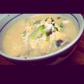 中華麺で簡単味噌ラーメン。
