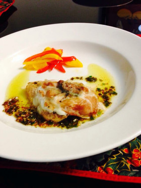 Saltimbocca イタリアン鶏肉