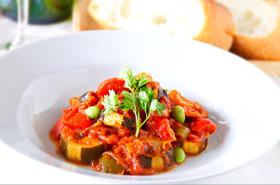 簡単✿ズッキーニと彩り夏野菜のカポナータ