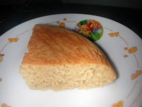 卵不使用!炊飯ジャー&ホットケーキミックスで超簡単!スパイス入りカフェオレのシフォンケーキ