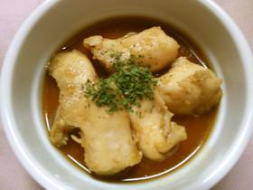 簡単!鶏ささみのレンジ蒸し にんにく醤油