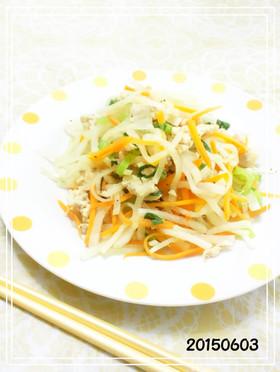 ささみで低カロリー 鶏肉の野菜炒め
