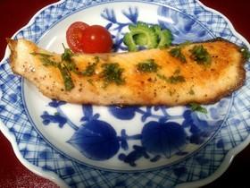 夏にピッタリ☆鮭のさわやかムニエル