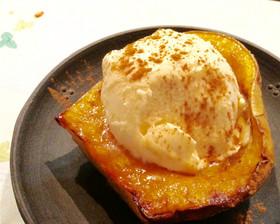 簡単☆バターナッツかぼちゃdeデザート