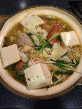 夏☆すっきり系マイルドな キムチ鍋