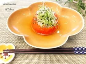 夏の美肌に☆鶏挽肉とトマトのおでん