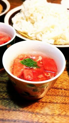 まぜるだけ★夏にぴったりトマトの麺つゆ