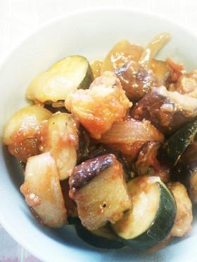 夏野菜たっぷり、夏バテ対策、夏の酢豚!