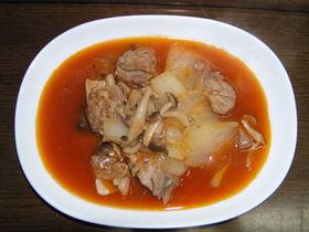 鶏肉トマトジュース煮