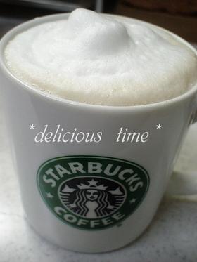 おうちカフェ☆カフェラテ