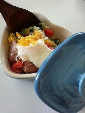 ラムカンダムールで作るクイック朝ご飯