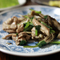 小松菜&舞茸と豚肉炒め(一押しです)
