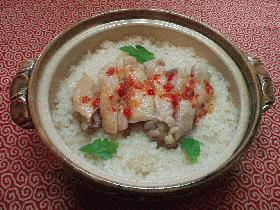 コンさんありがとう。土鍋でカオ・マン・ガイ