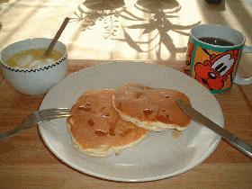 朝食にどうぞ!パンケーキ2