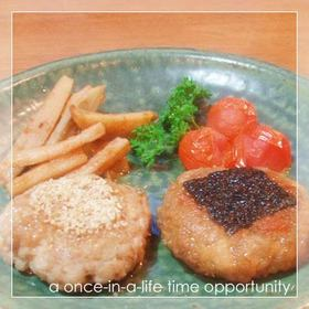 鶏レンコン@塩とタレ