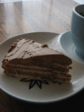 チョット懐かしい!簡単チョコレートケーキ
