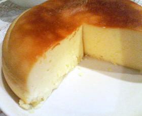 * 炊飯器DEチーズケーキ *
