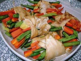 野菜た~っぷり♪ささみロール
