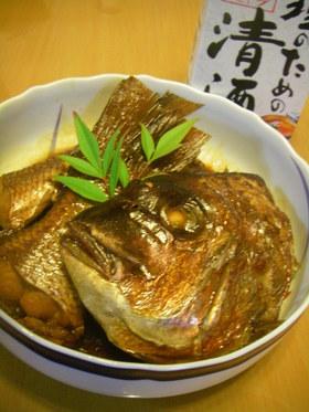 板さん仕込✿鯛のアラ炊き