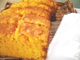ニンジンのパウンドケーキ