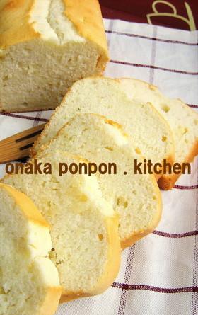 ミルキーなホワイト♡パウンドケーキ