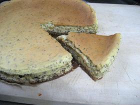いい香り♪アールグレイのチーズケーキ