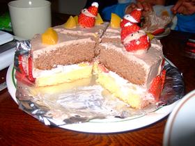 簡単 ココアスポンジケーキ